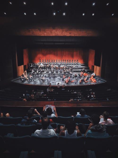 Orkest optreden